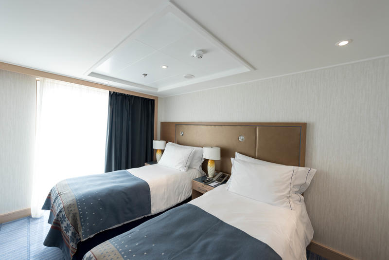 The Explorer Suite (Double Bed) on Viking Sea