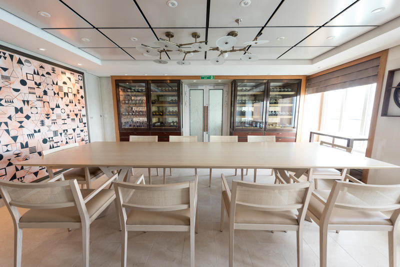 Private Dining Rooms on Viking Sea