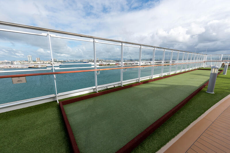 Sports Deck on Viking Sea