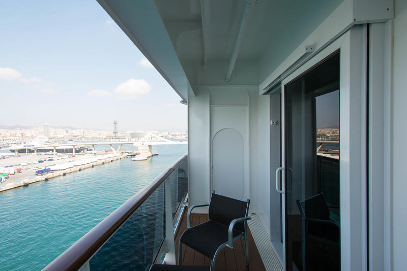 The MSC Yacht Club Wellness Deluxe Suite on MSC Meraviglia
