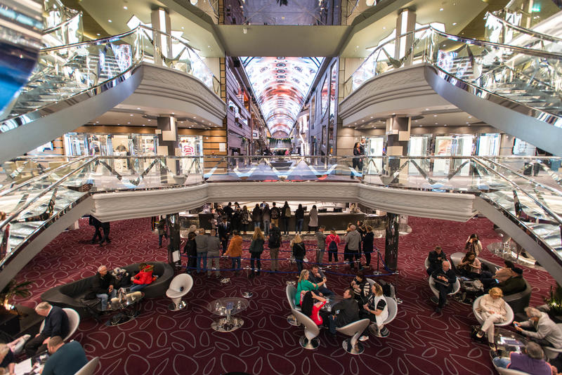 The Atrium on MSC Meraviglia