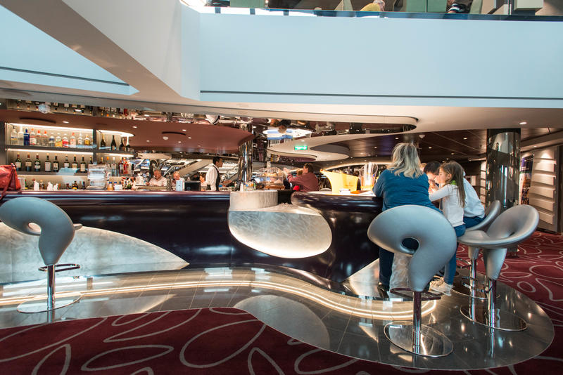 Infinity Bar on MSC Meraviglia