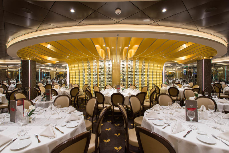 L'Olive Doree Restaurant on MSC Meraviglia