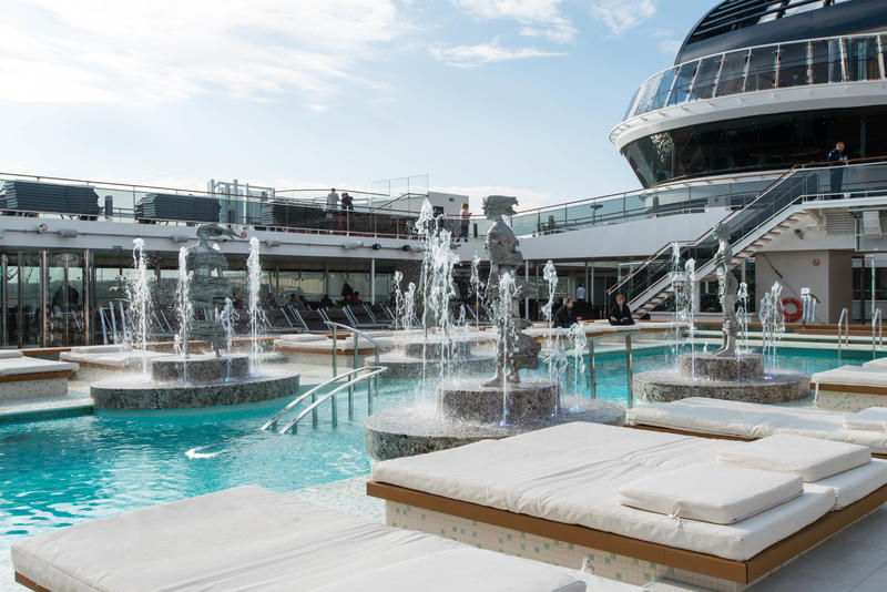 Atmosphere Pool on MSC Meraviglia