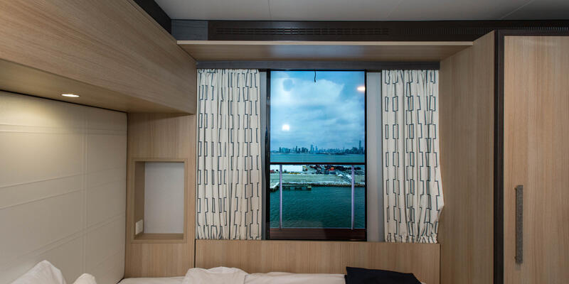 The Studio Interior Cabin with Virtual Balcony on Anthem of the Seas