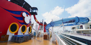 AquaDunk Water Slide on Disney Magic
