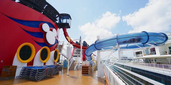 AquaDunk Water Slide on Disney Magic