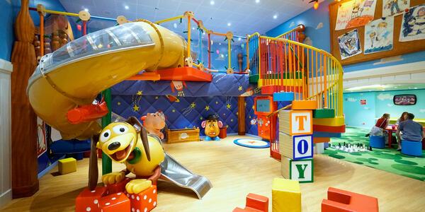 Andy's Room on Disney Magic