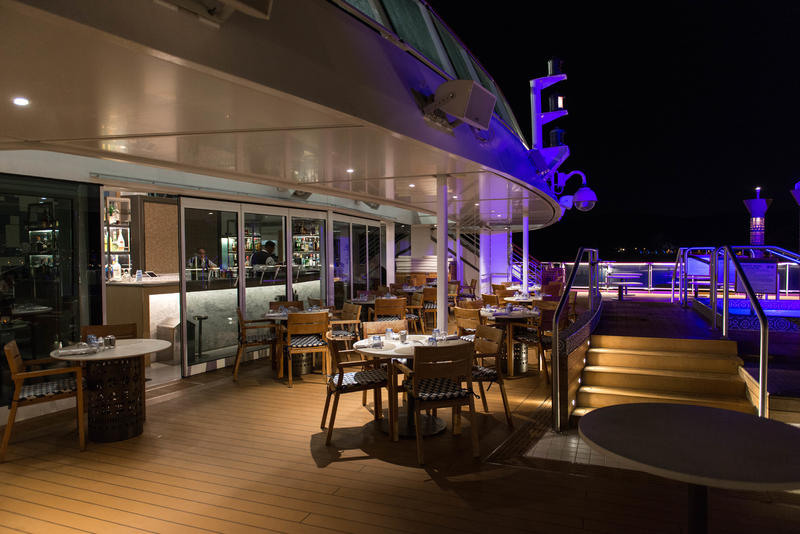 Aquavit Terrace and Bar on Viking Sky