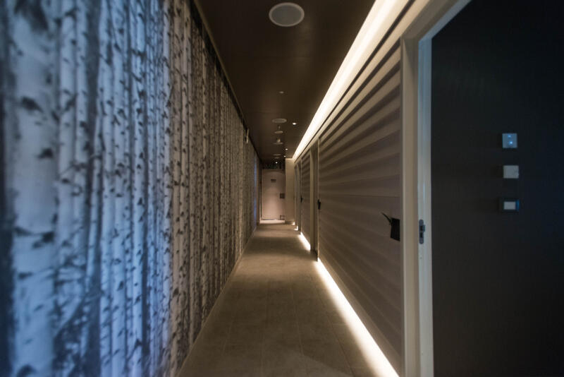 Spa Hallways on Viking Sky
