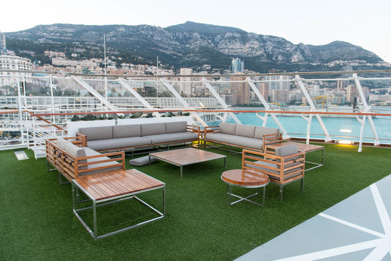 Sports Deck on Viking Sky