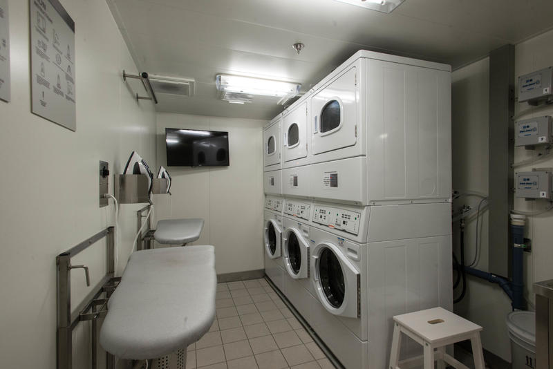 Launderette on Viking Sky