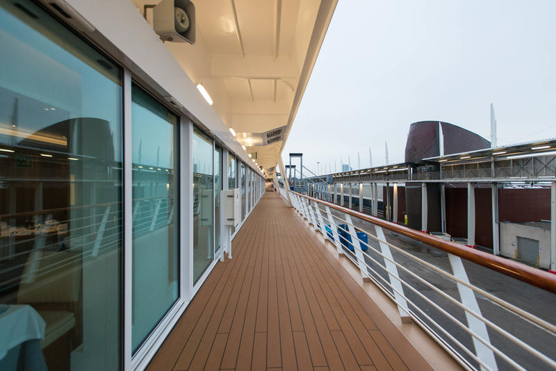 Jogging Track on Viking Sky