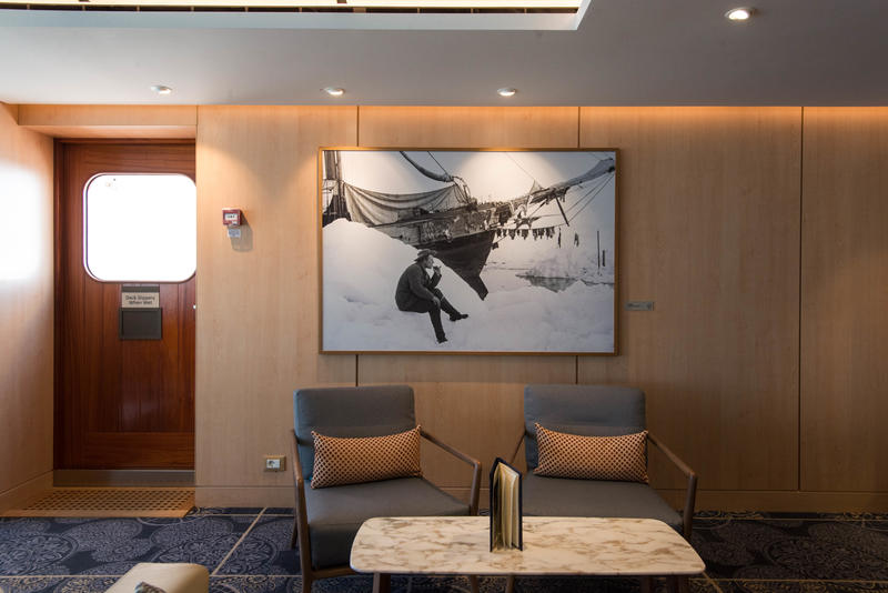 Explorers' Lounge on Viking Sky