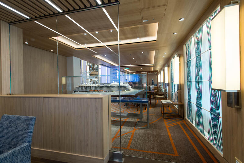 Viking Cruises Desk on Viking Sky