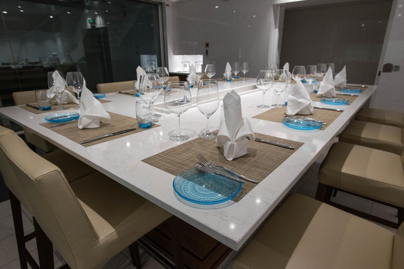 The Kitchen Table on Viking Sky