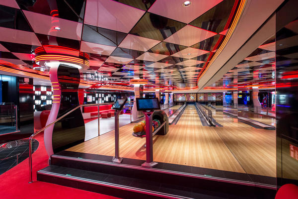Virtual Games Arcade & Bowling on MSC Seaside (Photo: Cruise Critic)
