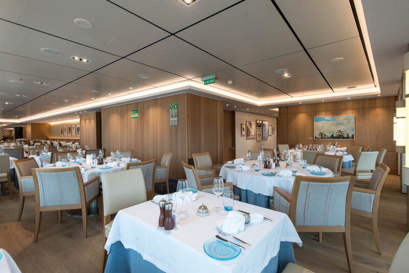 The Restaurant on Viking Sky
