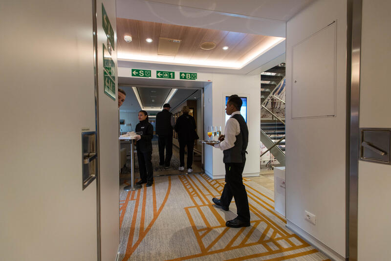 Hallways on Viking Sky