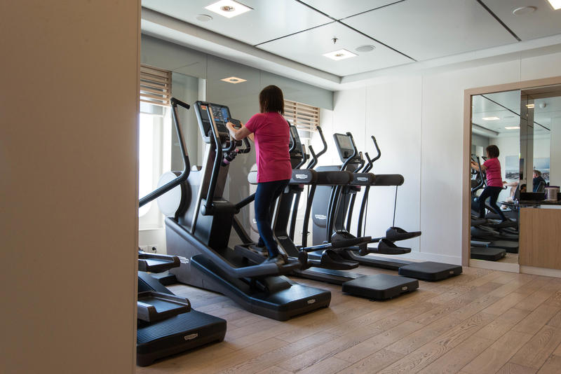 Fitness Center on Viking Sky
