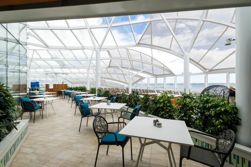 Solarium Bistro on Symphony of the Seas