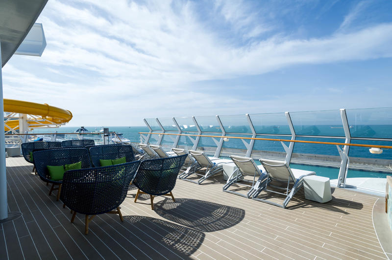 Suite Sun Deck on Symphony of the Seas