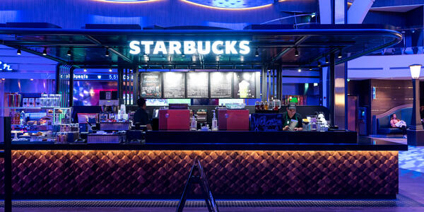 Starbucks on Symphony of the Seas (Photo: Cruise Critic)