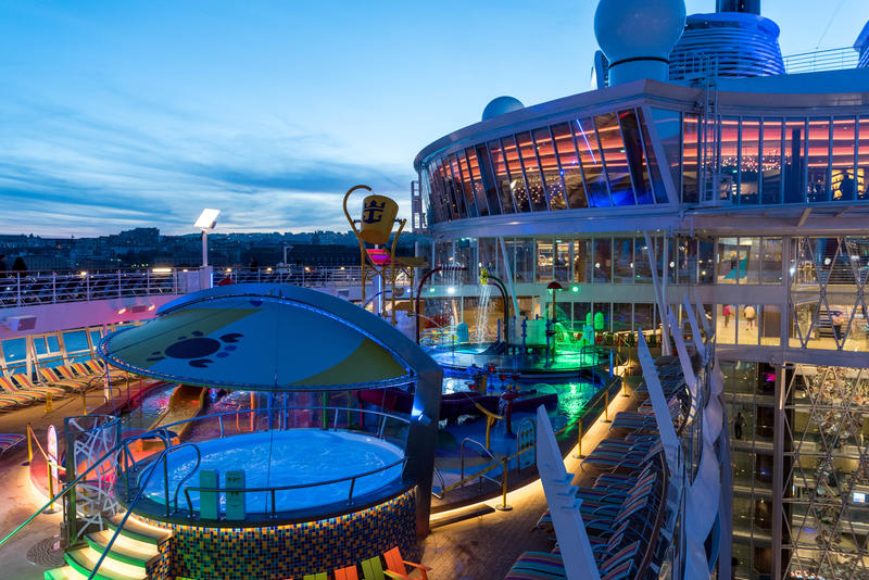 Sun Deck on Symphony of the Seas