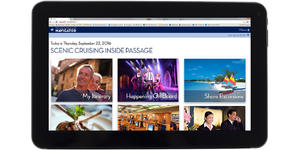 Navigator Web Service by Holland America Line (Photo: Holland America)