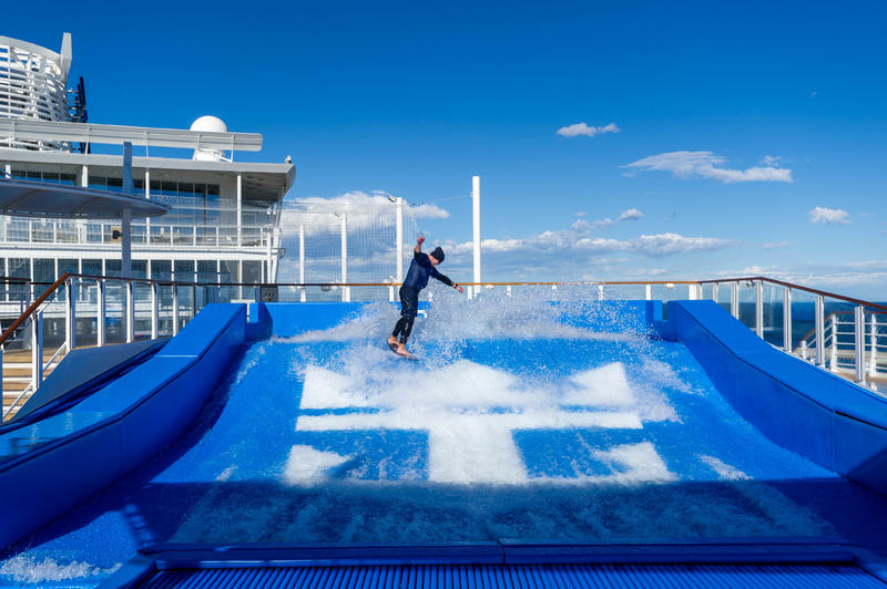 FlowRider on Symphony of the Seas