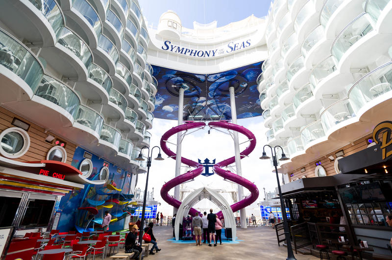 Boardwalk on Symphony of the Seas
