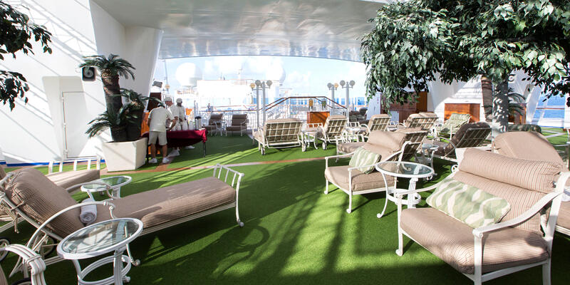 The Sanctuary on Caribbean Princess (Photo: Cruise Critic)