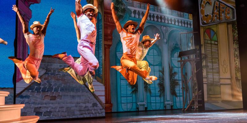 """""""Havana"""" in Bliss Theater on Norwegian Bliss"""