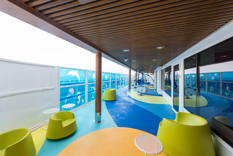 Outdoor Playground on Carnival Horizon