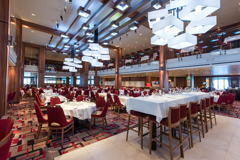 Meridian Restaurant on Carnival Horizon