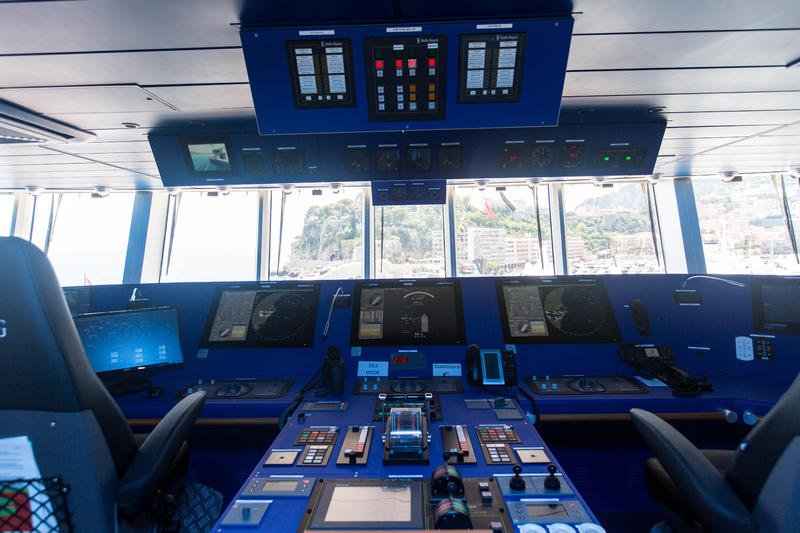 The Bridge on Viking Orion