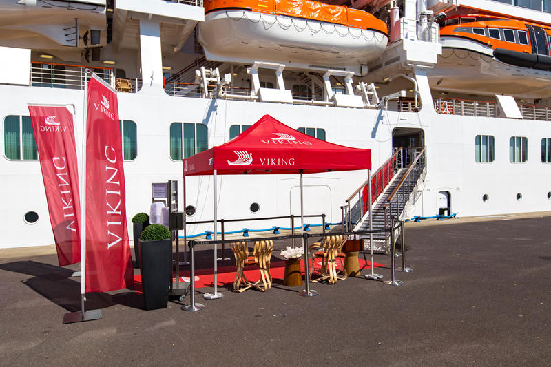 Boarding Area on Viking Orion
