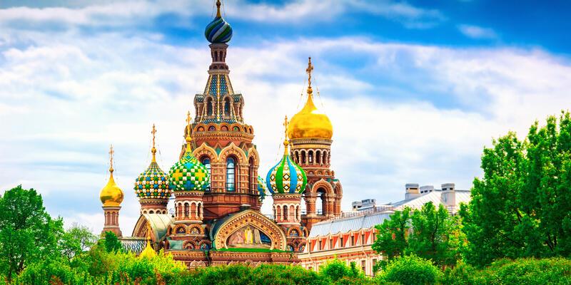 Church of the Spilled Blood, St. Petersburg (Photo: Shutterstock)