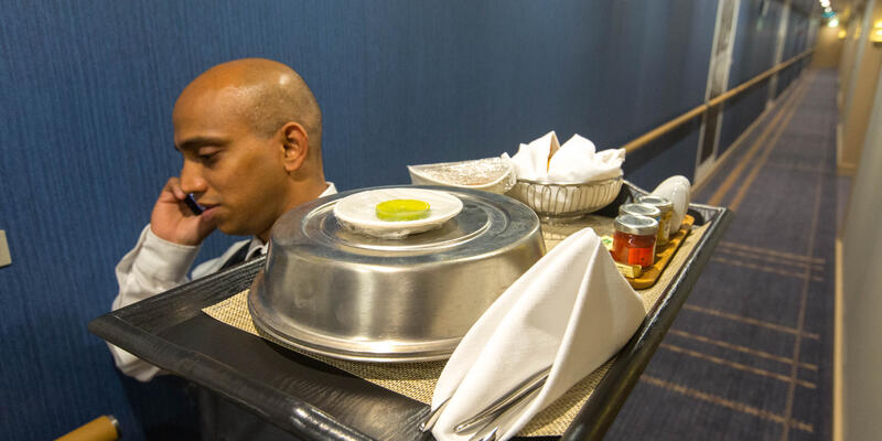 Room Service on Viking Orion