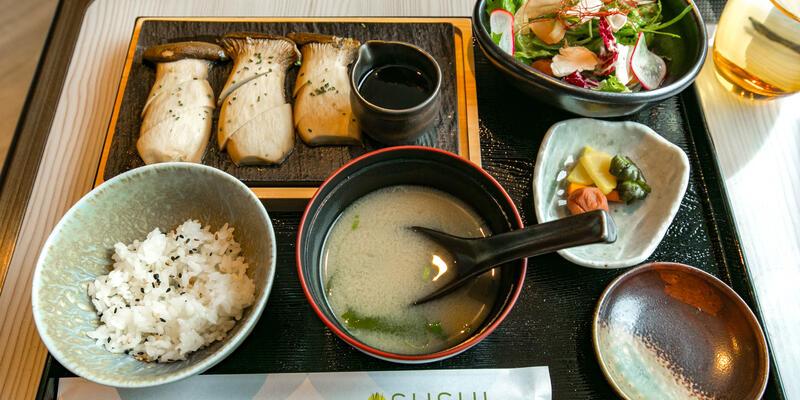 Sushi on Seabourn Ovation