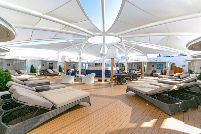 The Retreat on Seabourn Ovation