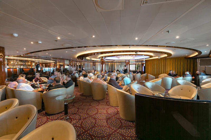 Trivia at The Club Bar on Seabourn Ovation