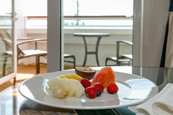 Room Service on Seabourn Ovation