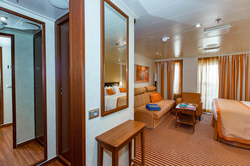 The Ocean Suite (King) on Carnival Vista
