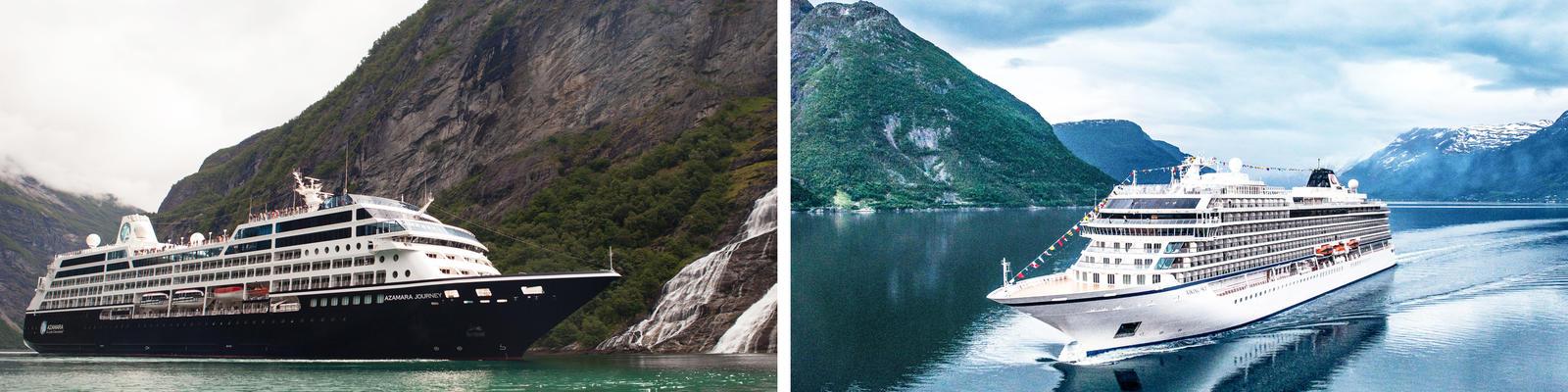 Azamara vs. Viking Ocean Cruises (Photo: Azamara & Viking Ocean)