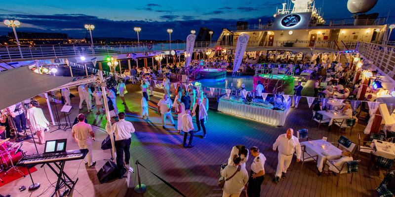 White Night Deck Party on Azamara Pursuit