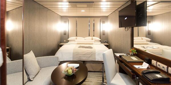 The Club Interior Cabin on Azamara Journey (Photo: Cruise Critic)