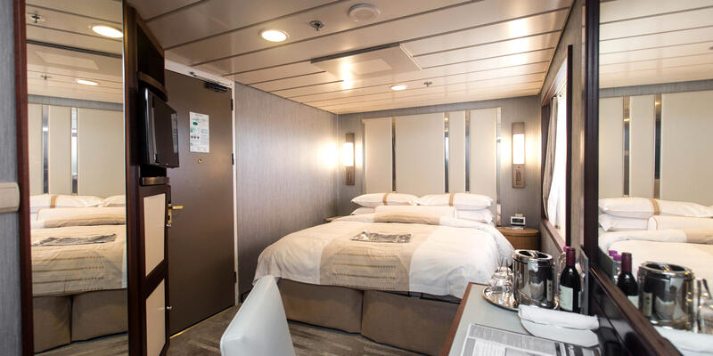 The Club Oceanview Cabin (Obstructed View) on Azamara Journey (Photo: Cruise Critic)