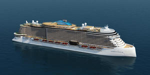 Norwegian Cruise Line's Project Leonardo (Image: Norwegian Cruise Line)