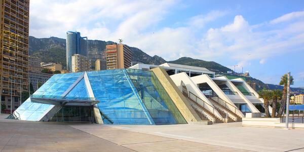 Grimaldi Forum in Monaco (Photo: lindasky76/Shutterstock)